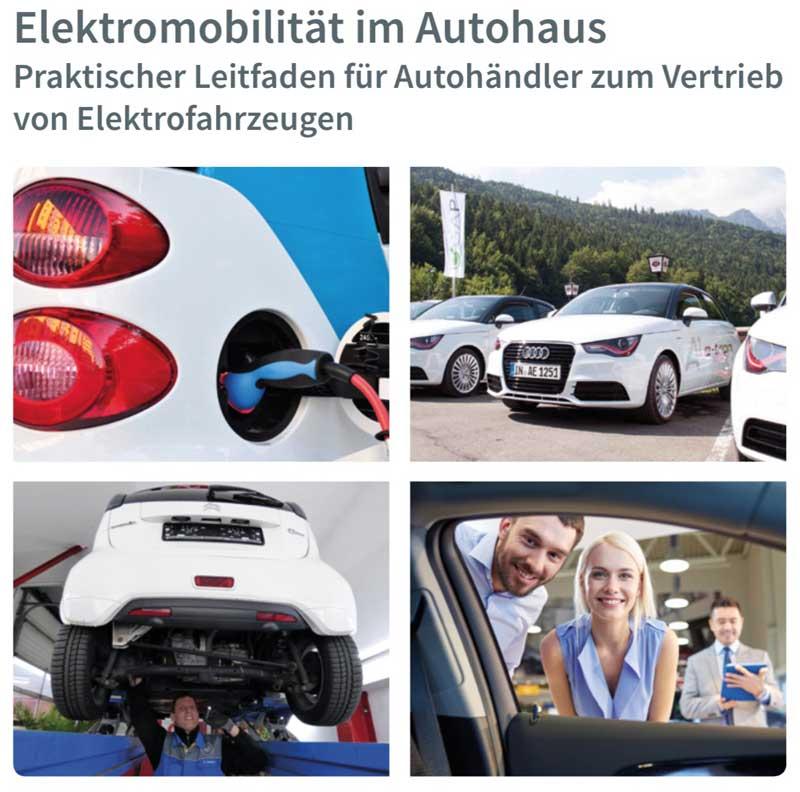 Elektroautos im Autohaus